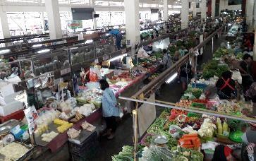 marché couvert de krabi