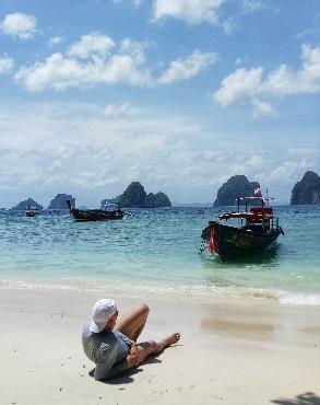 plage baie de phang Nga