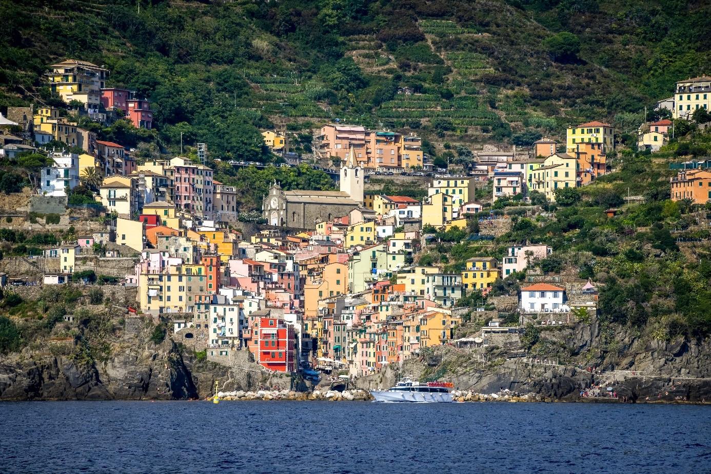 Cinq terre Riomaggiore