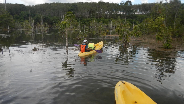 excursion canoé